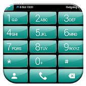 Dialer Theme Gloss Green Android APK Download Free By Luklek