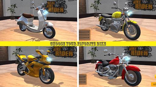 Télécharger Gratuit Code Triche Real Bike Rider MOD APK 1