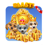 Pet dog blast : cute puzzle block saga Icon