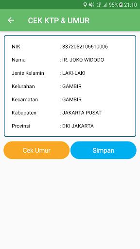 CEK KTP & UMUR ONLINE 1.6 screenshots 2