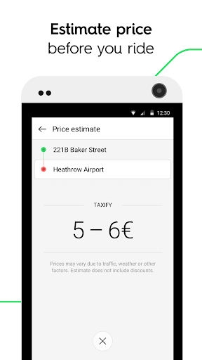 Taxify screenshot 3