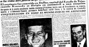 Kennedy es asesinado.