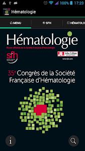 Hématologie congrès SFH 2015 screenshot 0