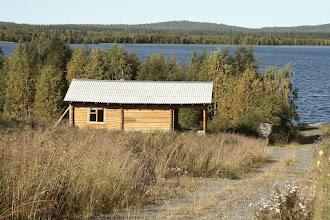 Photo: Rantahuvila venäläisittäin