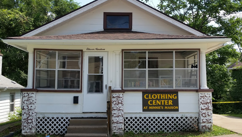 Image result for The Clothing Center at Minnie's Maison, Leclaire Street, Davenport, IA