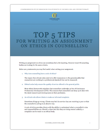 ethics in group counseling essay Video: the importance of ethics in counseling in this lesson issues and ethics in group counseling counseling challenges in the new millennium.