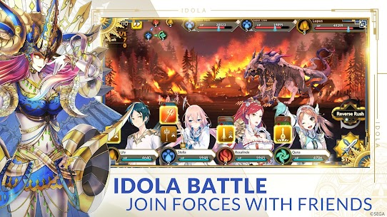 Idola Phantasy Star Saga MOD (MOD Menu/Damage Multiple) 3