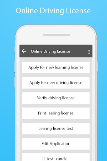 Download Indian Driving License Online Service Google Play softwares