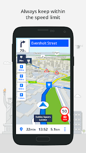 Most Reliable GPS App : Sygic 6