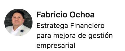 Estratega Financiero para mejora de gestión empresarial