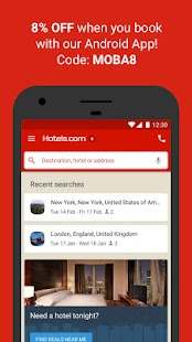 Download Hotels.com – Hotel Reservation For PC Windows and Mac apk screenshot 2