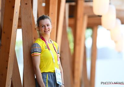 Sterke prestatie van Nina Sterckx! Landgenote eindigt op knappe vijfde plaats in haar eerste Olympische Spelen