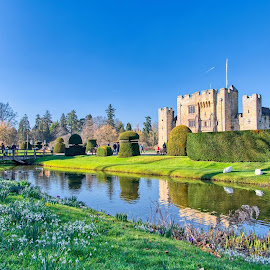 Hever Castle, Kent by Dave Williams - Buildings & Architecture Public & Historical ( england, castle, moat, countryside, hever castle, stately home )