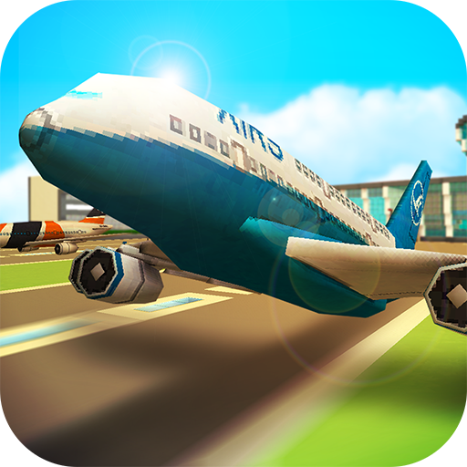 Airport Craft: Simulateur de Vol & de Construction