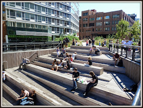 Photo: A terrace on the High Line overlooking 10th Avenue