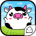 Princess Cow Nom Nom Evolution icon