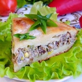 Jellied Fish Pie