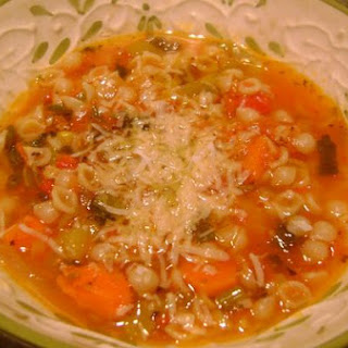 Fresh Tomato Veggie Soup