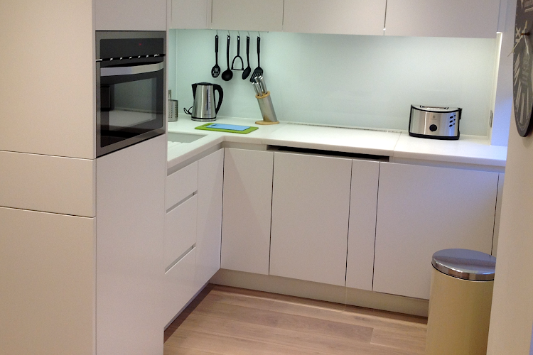 Fully equipped kitchen at Old Compton Street