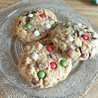 Christmas Chocolate Chip Cookies.