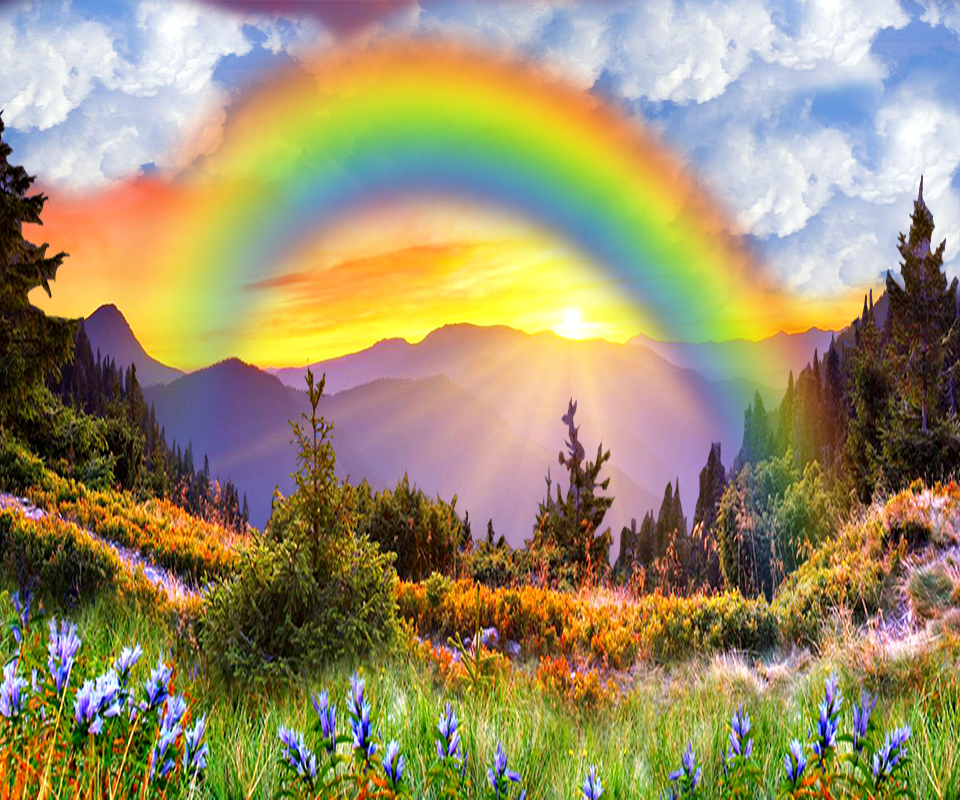 rainbow live wallpaper rain android apps on google play