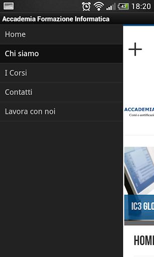 Accademia Formazione Inform 1.0 screenshots 2