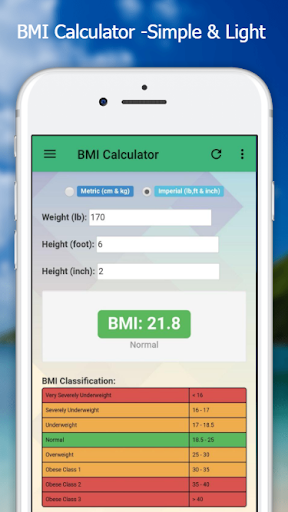 BMI Calculator - Easy & Simple screenshot 5
