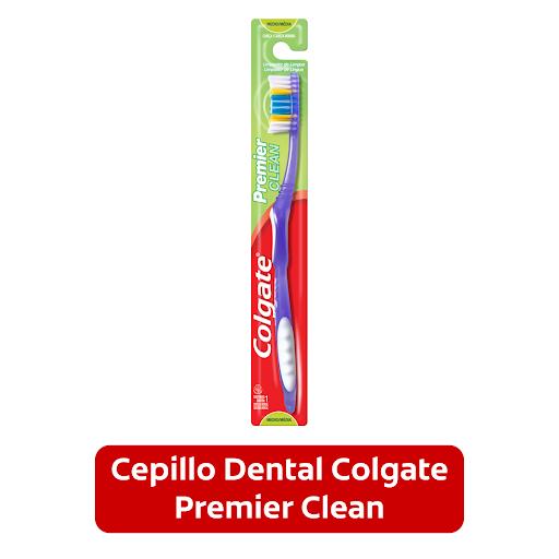 Cepillo Dental Colgate Premier Clean Limpia profundamente tus dientes mientras cuidas tus encías.