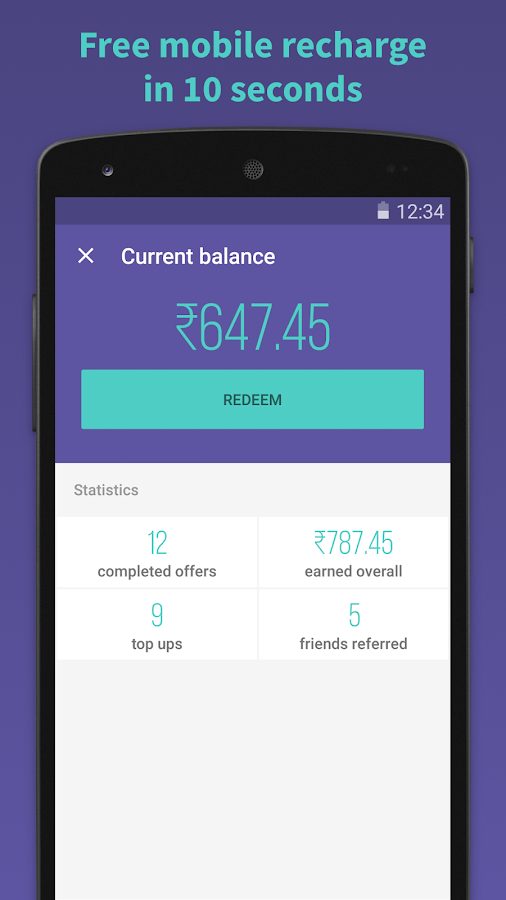 Simkarma Free Mobile Recharge- screenshot