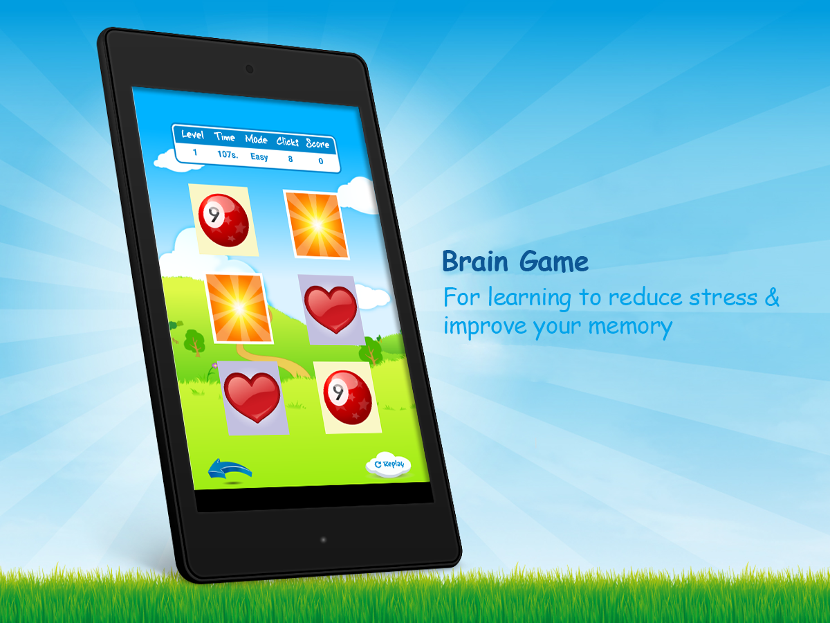 Memory Match Shapes Card Game- screenshot