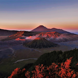 by Phil Bear - Landscapes Mountains & Hills ( crater, volcano )