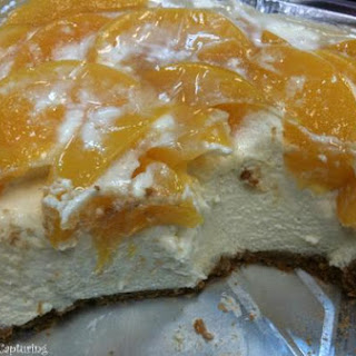 Peaches and Cream Cheese Cake