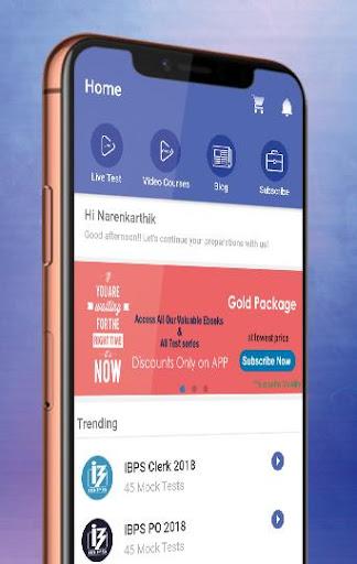 Bank, SSC & Railway Exams Preparation App  screenshots 1