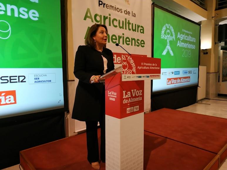 Carmen Crespo, consejera de Agricultura, Ganadería, Pesca y Desarrollo Sostenible.
