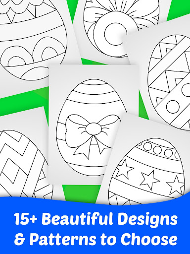 Easter Egg Coloring Game For Kids 8.0 screenshots 10
