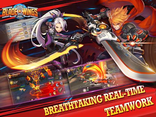 Blade & Wings: Future Fantasy 3D Anime MMORPG Game 1.8.8.1808021204.11 screenshots 6