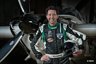 Photo: Pilot Michael Goulian of United States poses for a photograph during the Red Bull Air Race World Series in Abu Dhabi, United Arab Emirates on February 23, 2014. // Predrag Vuckovic/Red Bull Content Pool // P-20140226-00626 // Usage for editorial use only // Please go to www.redbullcontentpool.com for further information. //