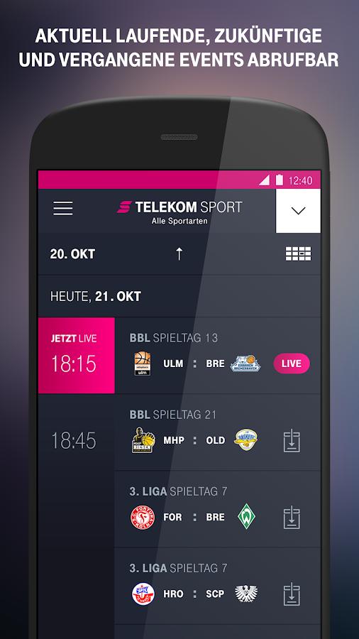 telekom sport android apps on google play. Black Bedroom Furniture Sets. Home Design Ideas