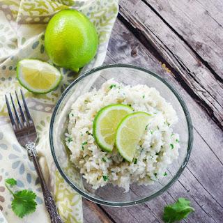 Cilantro Lime Coconut Rice.