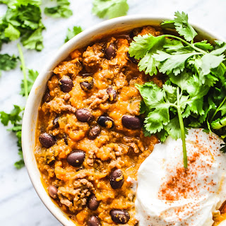 Comforting Sweet Potato Turkey Chili