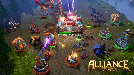 Télécharger Alliance at War: Dragon Empire - Strategy MMO mod apk screenshots 4