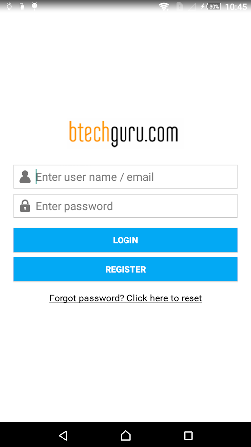 BTechGuru- screenshot