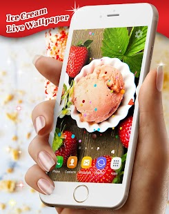 Summer Ice Cream Live Wallpaper - náhled