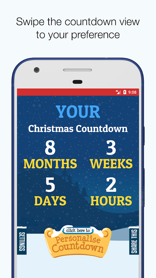 Your Christmas Countdown- screenshot