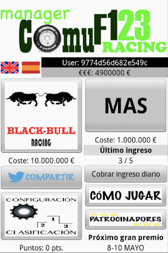 Manager Comu F123 Racing