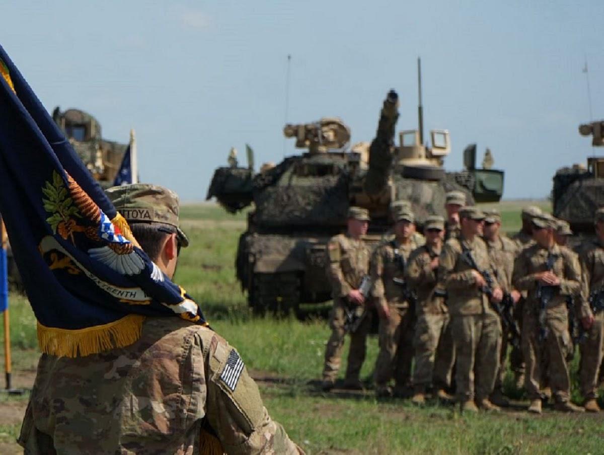 M1 Abrams nos exercícios militares Justice Eagle 19, na Romênia
