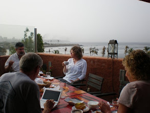 Photo: Drs. Dudley and Pellegrino on a Faculty Development trip to Senegal 2010