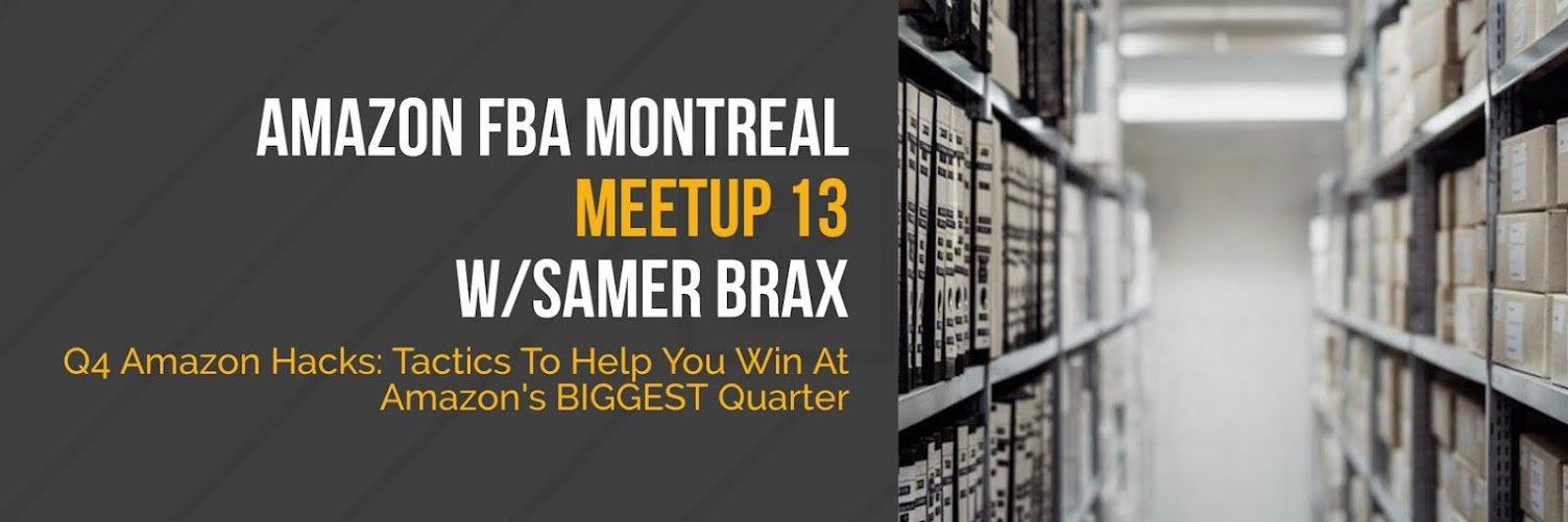 Amazon Montreal Meetup #13 - Q4 Amazon Hacks