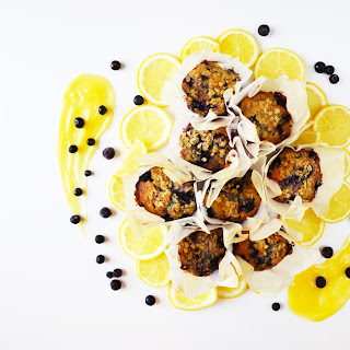 Blueberry & Lemon Curd Muffins