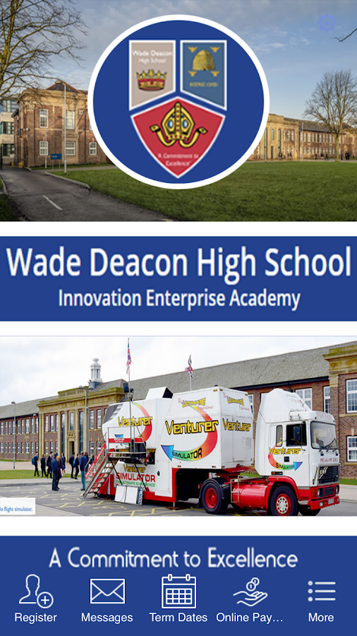 Wade Deacon High School- screenshot